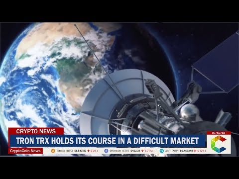 Tron TRX Holds its Course in a Difficult Market