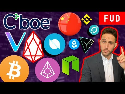 Only 1% Bitcoin Volume from China? NEO 3.0, Bancor Hack! EOS Ontology Augur ICX TRX XLM