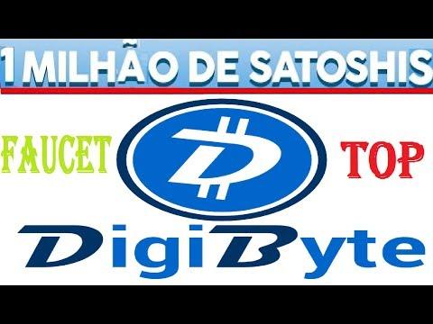 NOVA FAUCET DIGIBYTE GANHE 1 MILHÃO DE SATOSHIS COM PROVA DE PAGAMENTO NA FAUCETHUB