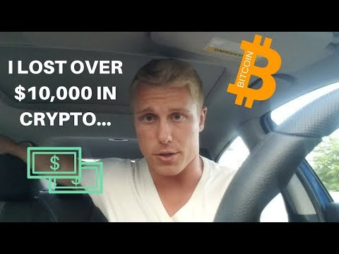I LOST $10,000…| HERE'S HOW | CRYPTOCURRENCY INVESTING