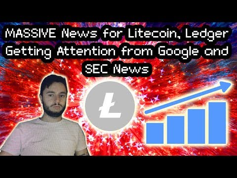 MASSIVE Litecoin News, HUGE Money Looking Into Ledger, DigiByte and SEC ETF Comments