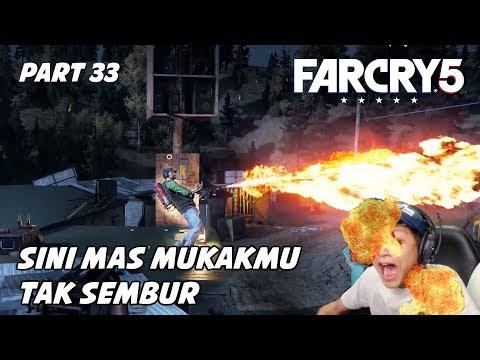 FAR CRY 5 #33 | AWAS MAS GOSONG ADA ORANG GILA MAIN API | Indonesia