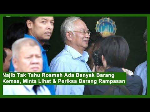 Najib – Tak Tahu Rosmah Ada Banyak Barang Kemas !