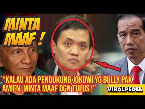 Habiburokhman Bila Ada Pendukung Jokowi yg Membully Pak Amien, Minta Maaf dengan Tulus – VIRALPEDIA