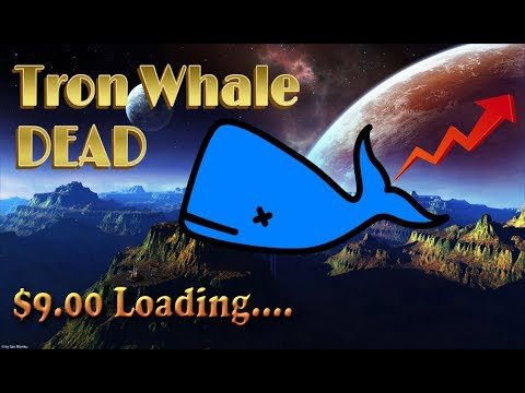 TRON (TRX) Whale Is Gone! $9 Tron Coming Soon!