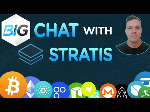 Stratis Chat with Jordan | Developer Explains | Now Endorsing ICO's | To the Stratisphere ?
