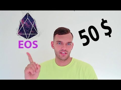 EOS Прогноз! Обзор rриптовалюты eos. EOS по 50$