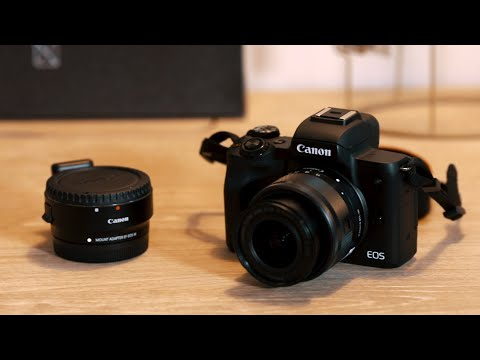 Canon EOS M50 Mirrorless Camera Review