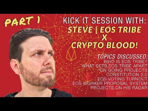 CB x Steve CEO of EOS Tribe (Block Producer): Who is EOS Tribe, EOS Voting, His Journey & More!