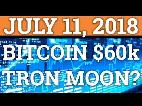 BITCOIN TO $60,000? TRON ABOUT TO MOON? LITECOIN LTC, NEO, TRX, BTC PRICE + CRYPTOCURRENCY NEWS 2018