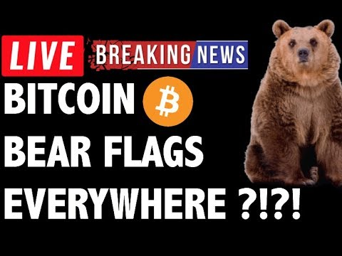 Bitcoin (BTC) Bear Flags EVERYWHERE?!- Crypto Trading Price Analysis & Cryptocurrency News