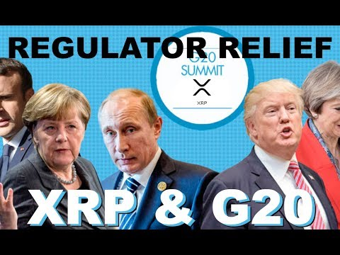 Ripple (XRP) Regulator Relief? G20 Summit Currency Decision