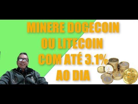 MINERAR DOGECOIN OU LITECOIN  COM ATÉ 3.1% AO DIA NA DLDCOMPANY