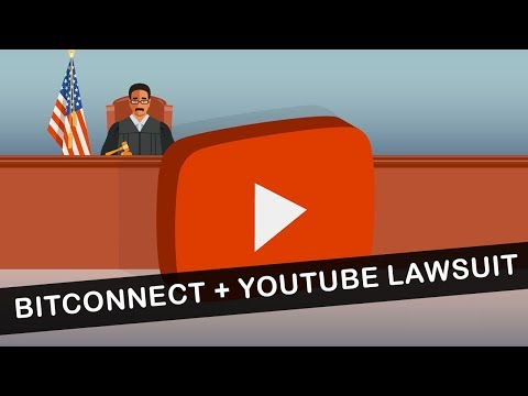 Bitconnect Involves YouTube In Lawsuits!