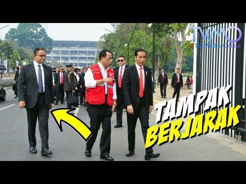 Tinjau GBK Bareng, Jokowi-Anies Tampak BERJARAK! Ada Apakah?
