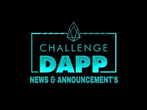 EOS Challenge DAPP Explained