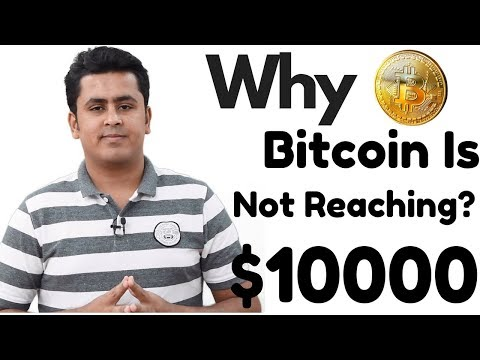 Why Bitcoin Is Not Reaching $10000 – Stats & Facts !