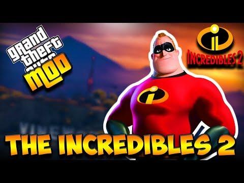 THE INCREDIBLES 2 ADA DI GTA !!!!    GTA 5 MOD INDONESIA