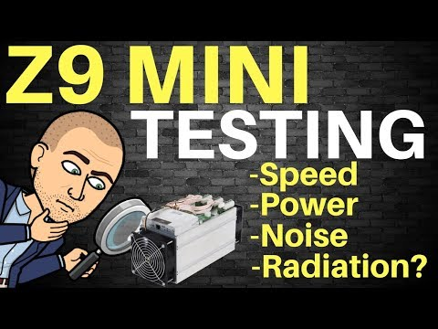Bitmain Antminer Z9 Mini ASIC – Setup + Full Testing – 60% higher Sol/s