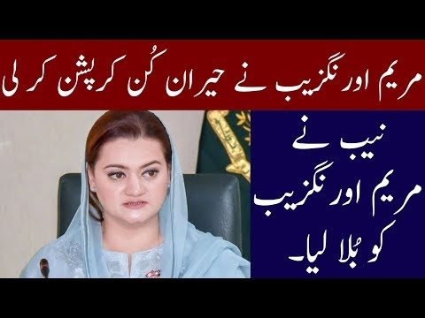 NAB Big Step Against Maryam Aurangzeb | Neo News