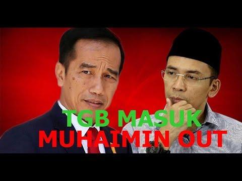 Sudah Ada TGB, Jokowi Tidak Butuh Muhaimin (Lagi)