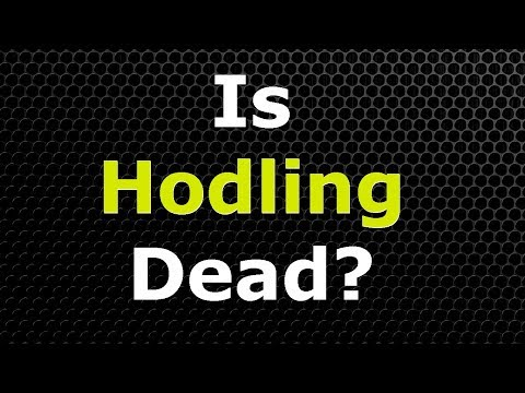 Attention All Tron TRX Holders – Is Hodling Dead?
