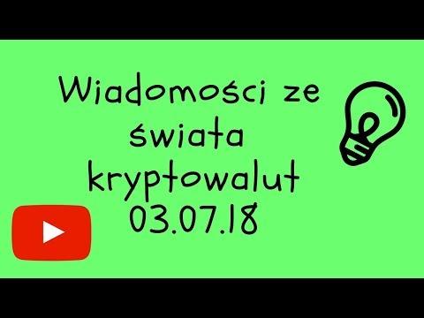 Kryptowaluty – Wiadomości ze świata kryptowalut 03.07.18