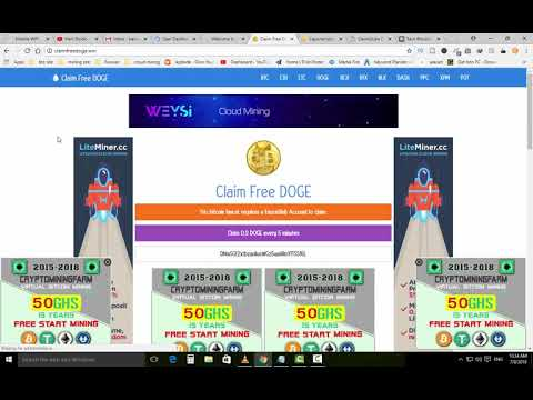 Top 5 Faucet Sites earn free unlimited dogecoin with instant withdraw
