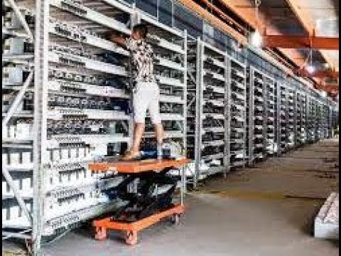 The Biggest Bitcoin Mining Farm in the USA