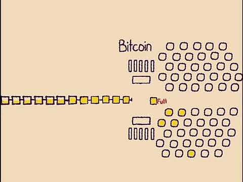 Bitcoin Vs Bitcoin Cash Cartoon