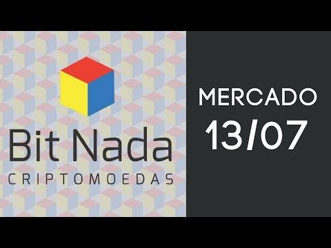 Mercado de Cripto! 13/07 Bitcoin cai ou sobe? / MXT / XVG / IOTA / ETF