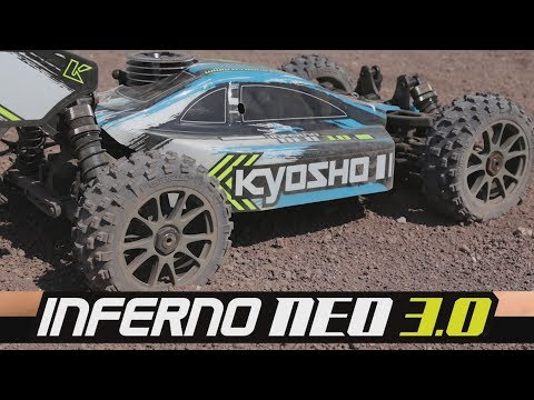 Kyosho INFERNO NEO 3.0 #Buggy 1:8 Action Test RC a scoppio
