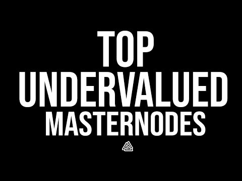 Top 8 UNDERVALUED Masternodes For Q3 2018!
