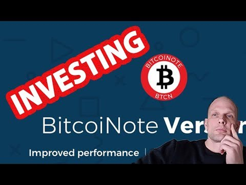 2018 CRYPTO INVESTING BITCOINOTE CRYPTOCURRENCY REVIEW