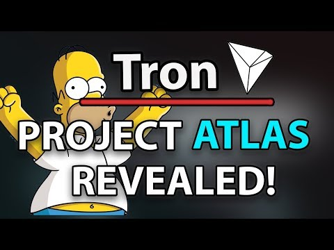 Tron (TRX) SECRET PROJECT REVEALED!: Project Atlas & TRON VIRTUAL MACHINE LAUNCH SUCCES!