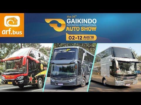 Akan Ada Bus Apa Saja Di GIIAS 2018 ?
