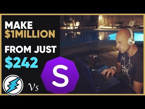 Make a million as Stellite matches Electroneum price