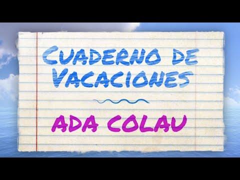 Cuaderno de vacaciones: ADA COLAU