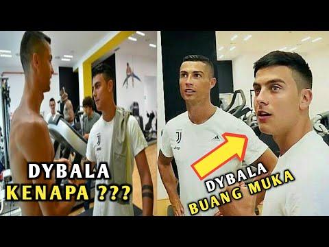 Ronaldo Latihan Perdana, Namun Ada Kejanggalan Saat Bertemu Dybala, Ada Apa Dybala ???