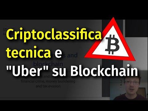 """Criptoclassifica tecnica, """"Uber"""" su EOS, Telos fork, Binance DEX app, Monerujo e Ledger Nano S.."""