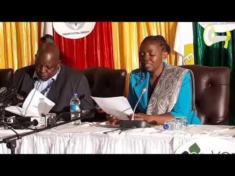 ZEC Announces Election Results Batch 4