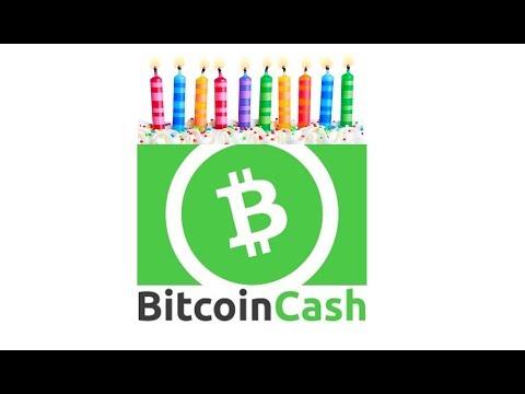 Feliz Aniversário, Bitcoin Cash