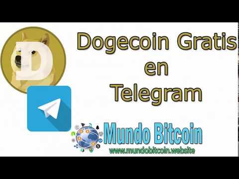 ??▷ Como Ganar Dogecoin Gratis, Bot de Telegram, Pagando Doge Gratis, Mínimo de Pago 3 Doge ✅