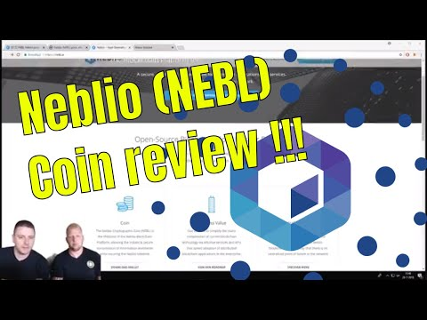 Neblio (NEBL) Coin Review!!! Neblio cryptocurrency voorspelling 2018!