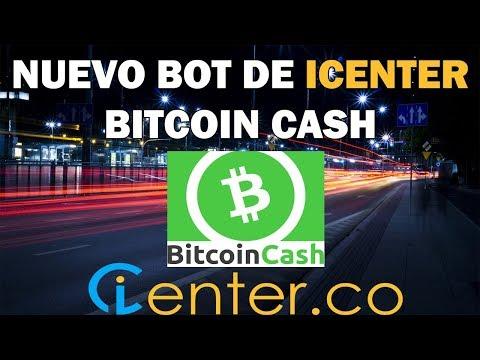 Nuevo bot de iCenter: Bitcoin Cash