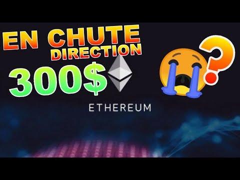 ETHEREUM 300$ À NOUVEAU !!!? ETH analyse technique crypto monnaie BITCOIN