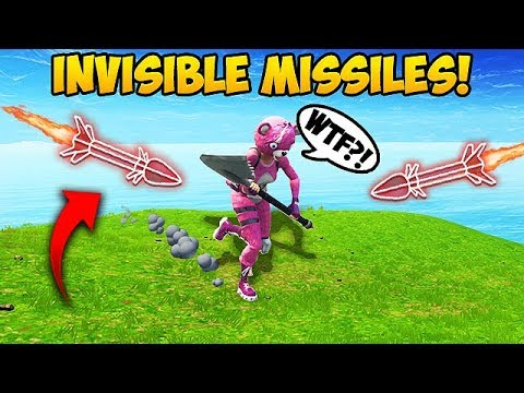 NEW *INVISIBLE* GUIDED MISSILE TRICK! – Fortnite Funny Fails and WTF Moments! #276