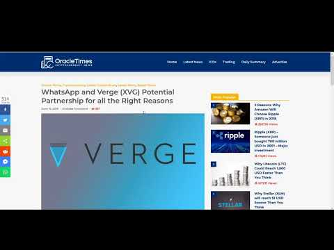 Verge XVG to reach $100 ? – Verge XVG  Price Prediction