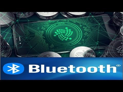 IOTA News! Where IOTA (MIOTA) Cryptocurrency Combines With Bluetooth