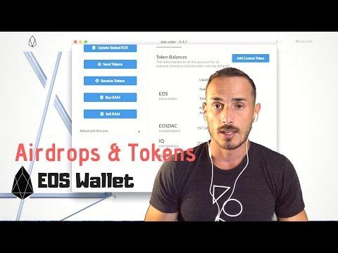 EOS Tokens ed Airdrops con eos-voter